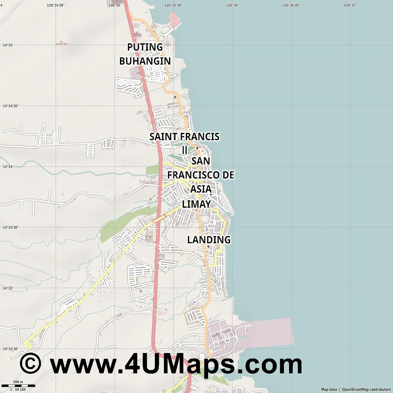 Limay  jpg ultra high detail preview vector city map