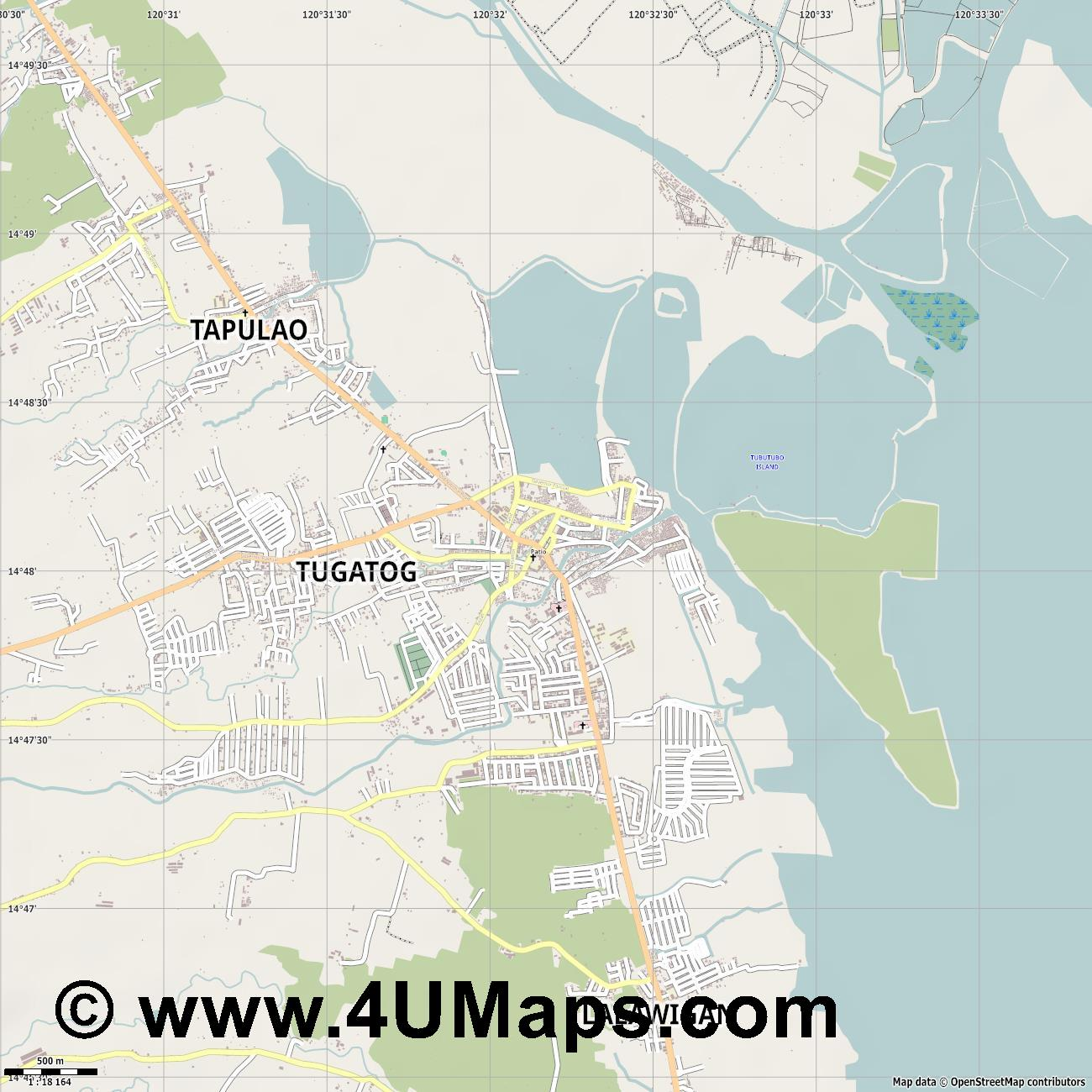 Orani  jpg ultra high detail preview vector city map
