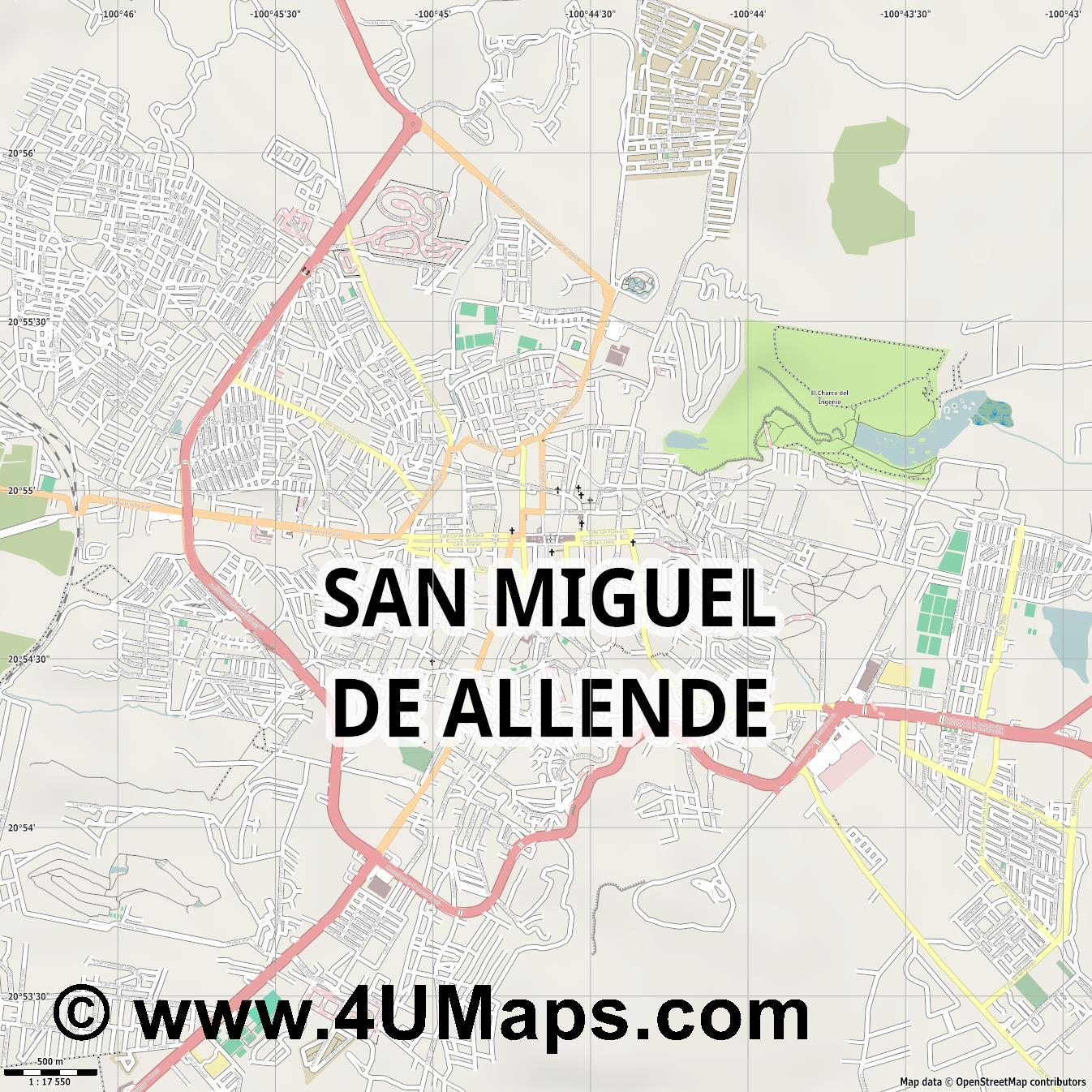 PDF, Svg Scalable Vector City Map San Miguel de Allende San Miguel De Allende Map on rio de janeiro map, rincon de guayabitos map, ixtapan de la sal map, queretaro map, real de catorce map, puerto vallarta map, ixtapa zihuatanejo map, hermosillo map, segovia spain on a map, mexico map, puebla on map, latin america map, chichen itza map, morelia map, cozumel map, san miguel county nm map, antigua guatemala map, buenos aires map, isla mujeres map, san cristobal de las casas map,