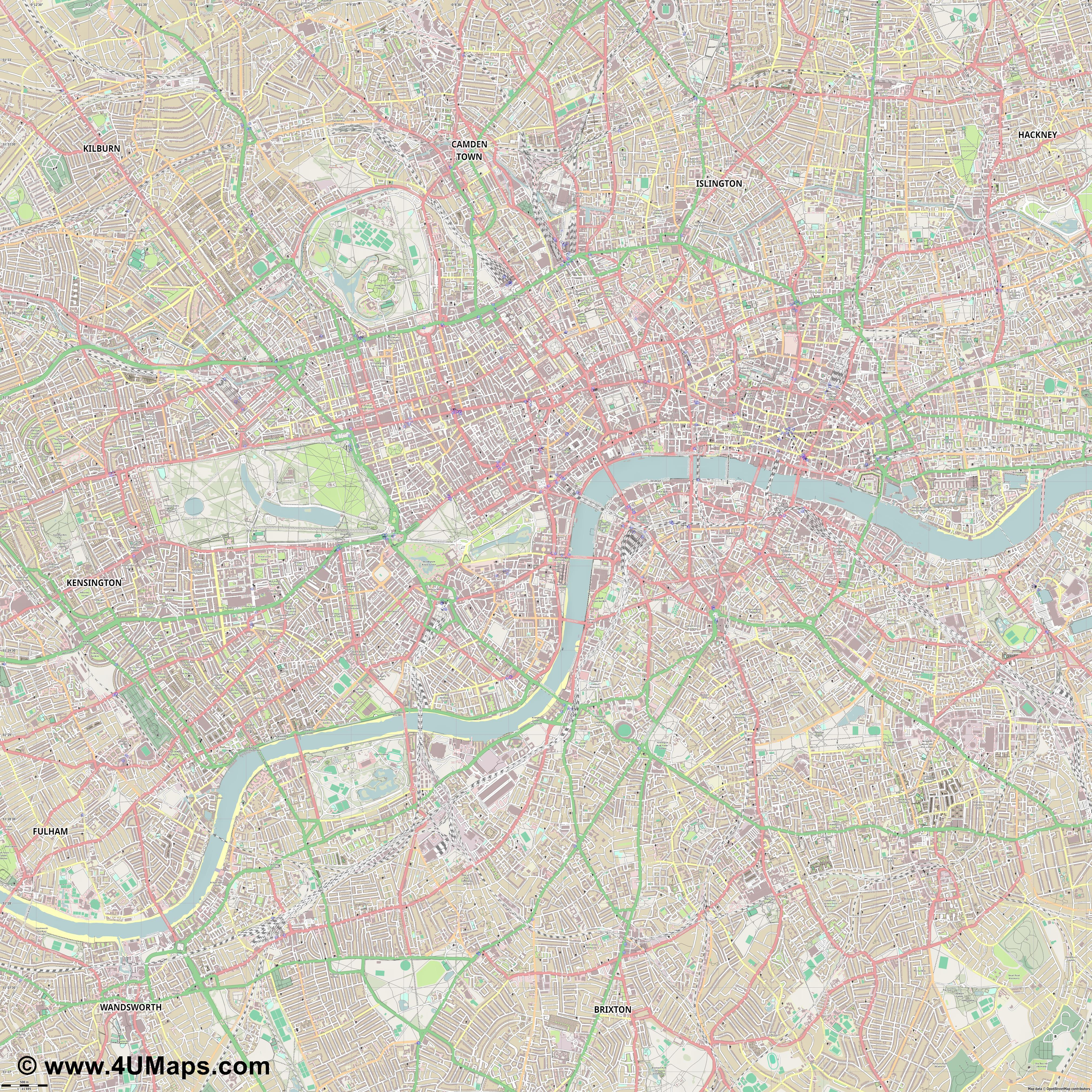 Westminster  jpg ultra high detail preview vector city map