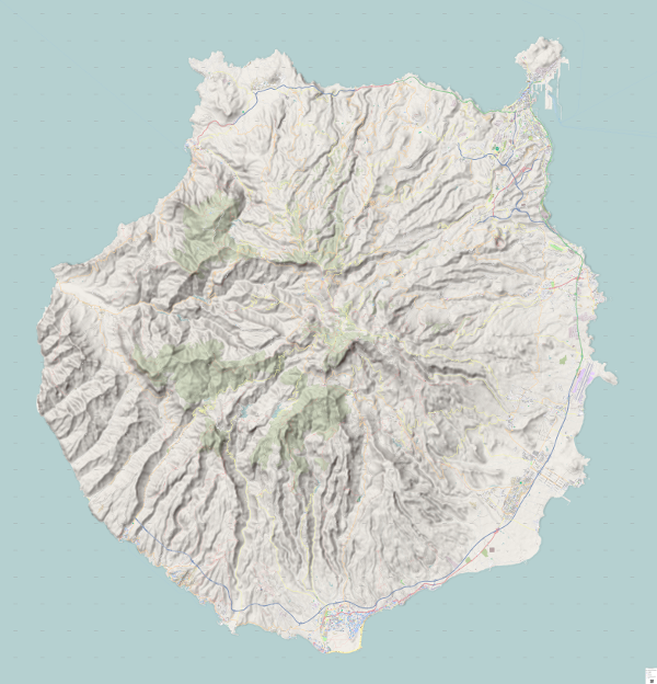 Download Hiking Mtb Map Gran Canaria Canary Island