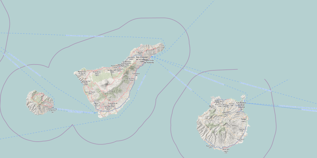 Download Wander Mtb Karte Insel Gran Canaria La Gomera Teneriffa