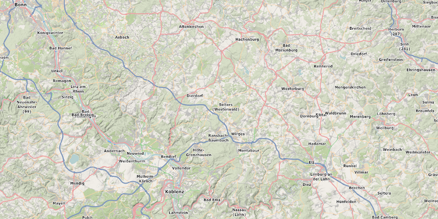 Karte Koblenz.Download Wander Mtb Karte Rheinland Pfalz Hessen Koblenz Bonn