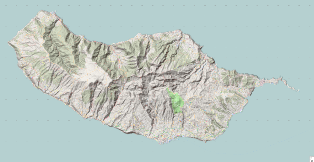 Download Hiking Mtb Map Madeira Island Funchal
