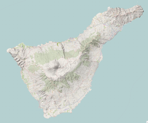 Download Hiking Mtb Map Tenerife Canary Island
